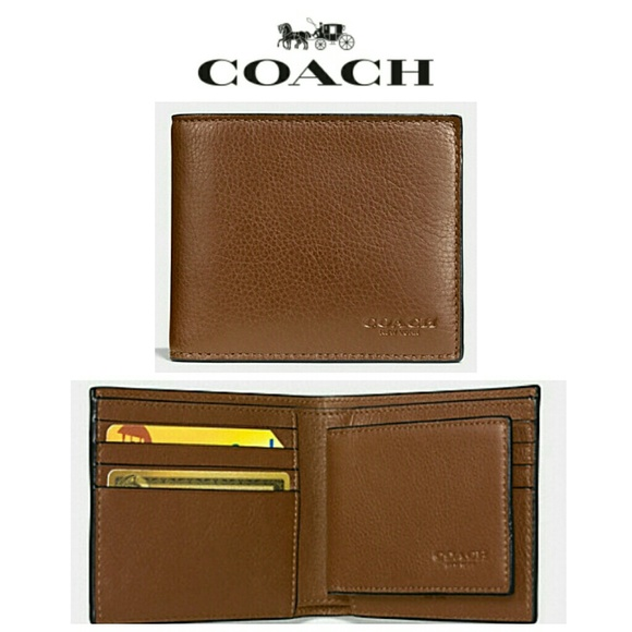 d9cd8dab13fc8 NEW Coach Compact ID Wallet